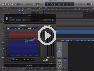 Watch How to Measure Loudness in Logic X video