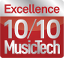 MusicTech Magazine Excellence Award