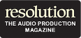 Resolution Magazine logo