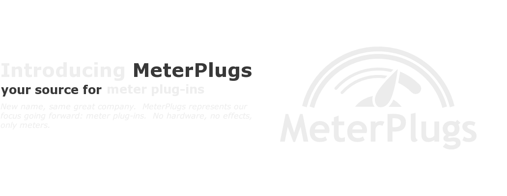 Introducing MeterPlugs