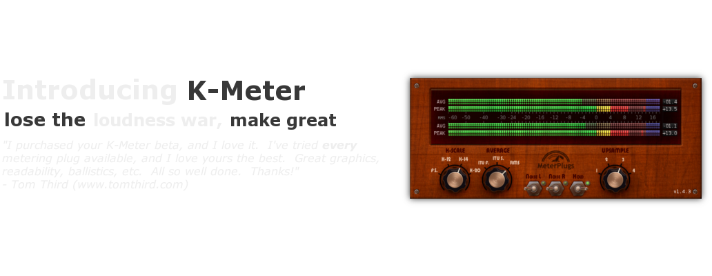 K-Meter screenshot